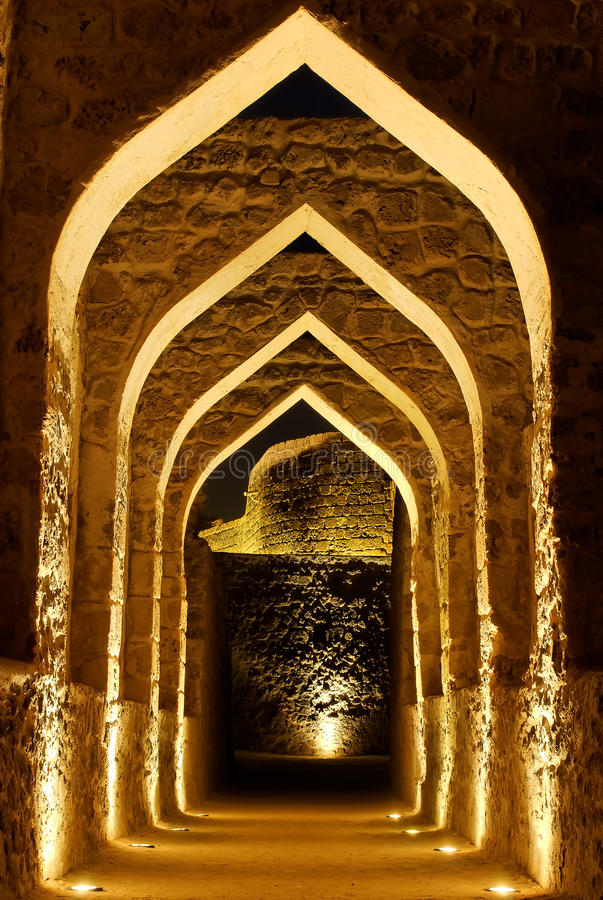 Free Bahrain Fort, Manama Royalty Free Stock Image - 15777856