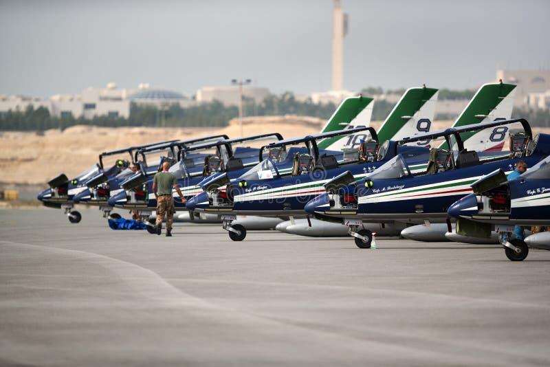 Bahrain internationales Airshow 2018 lizenzfreie stockfotos