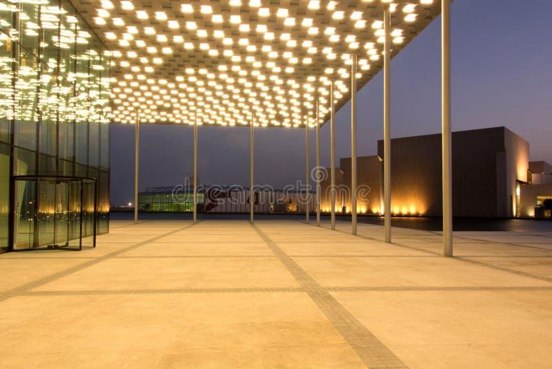 Bahrain national theatre stock photos