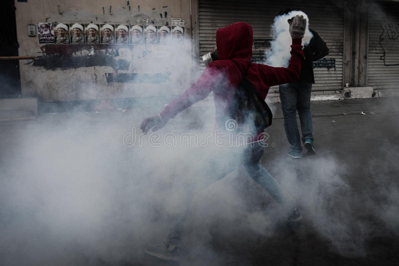 BAHRAIN-PROTEST-POLITICAL DETAINEE-PEOPLE images libres de droits