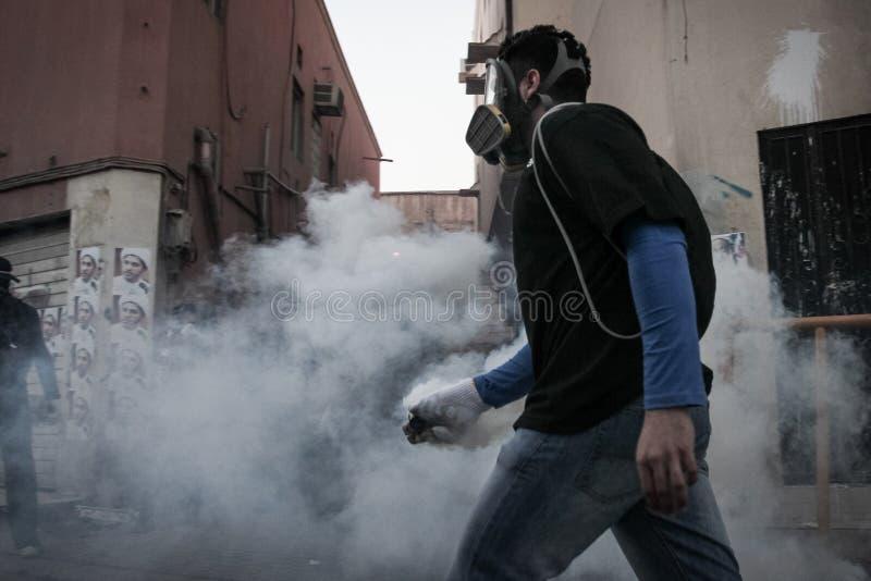 BAHRAIN-PROTEST-POLITICAL DETAINEE-PEOPLE foto de archivo
