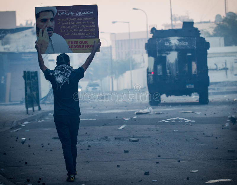 BAHRAIN-PROTEST-POLITICAL DETAINEE-PEOPLE 库存图片