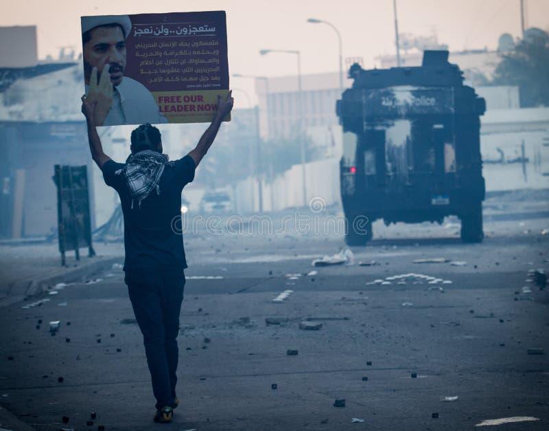 BAHRAIN-PROTEST-POLITICAL DETAINEE-PEOPLE imagenes de archivo