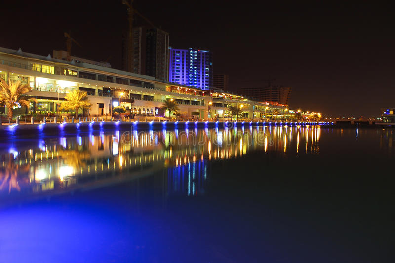 Download Bahrain Skyline At Nite 2 Stock Photos - Image: 37104533