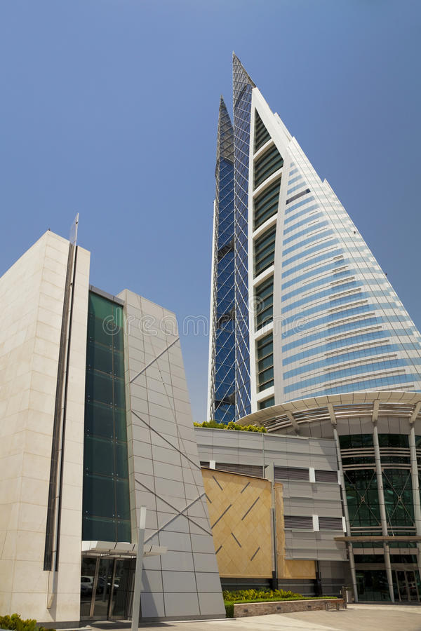 Download Bahrain World Trade Center, Manama, Bahrain Stock Photo - Image: 14578814