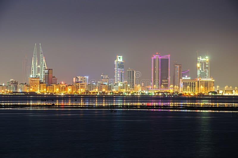 Bahrajn linia brzegowa zdjęcie royalty free