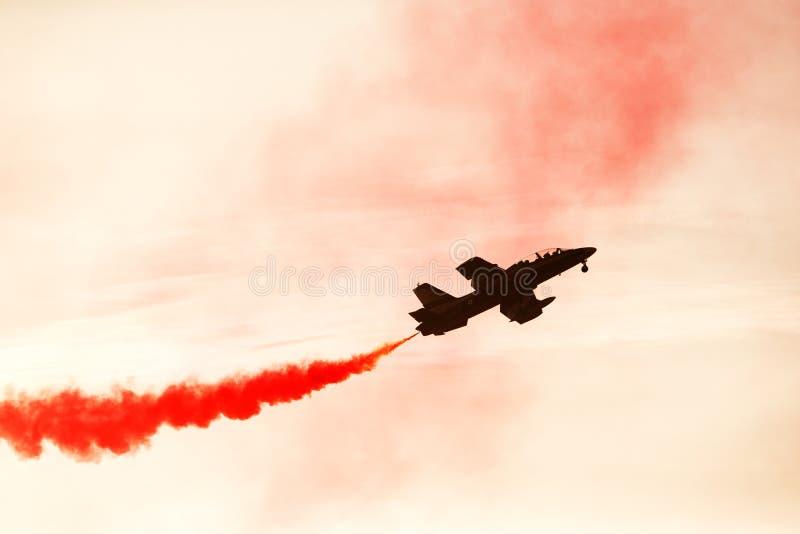 Bahrajn Międzynarodowy Airshow 2018 fotografia royalty free