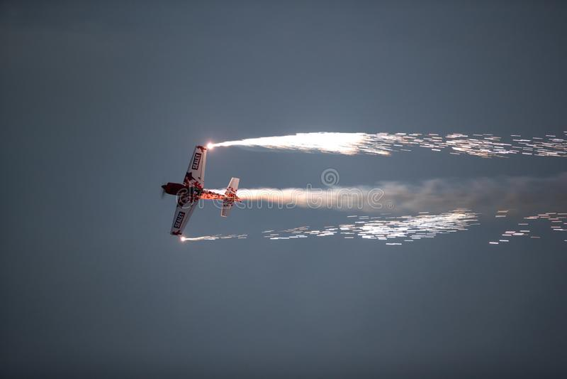 Bahrajn Międzynarodowy Airshow 2018 obraz stock