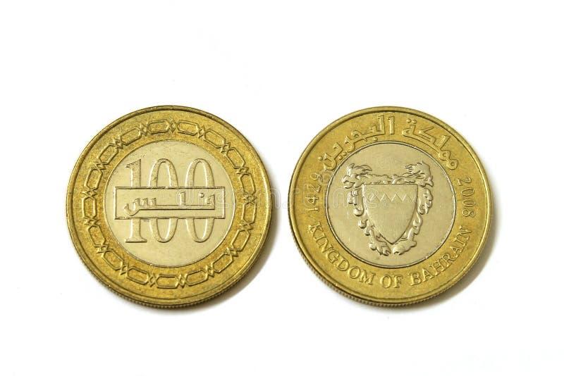 Bahrajn ukuwa nazwę walutę odizolowywającą zdjęcia royalty free