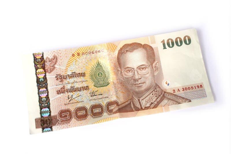 baht 1000 thaï photographie stock libre de droits