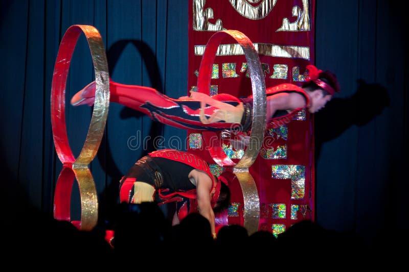 bai cirque s Shanghai xi. obrazy royalty free