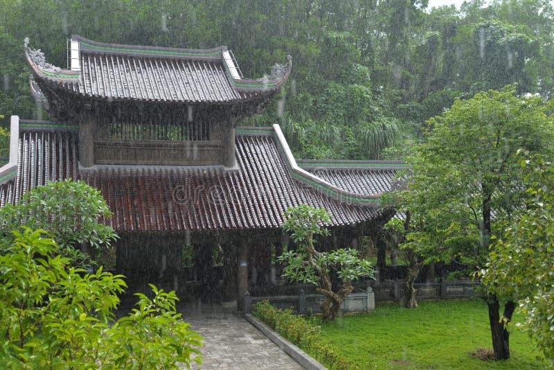Bai Dinh świątynny kompleks, Ninh Binh, Wietnam fotografia stock