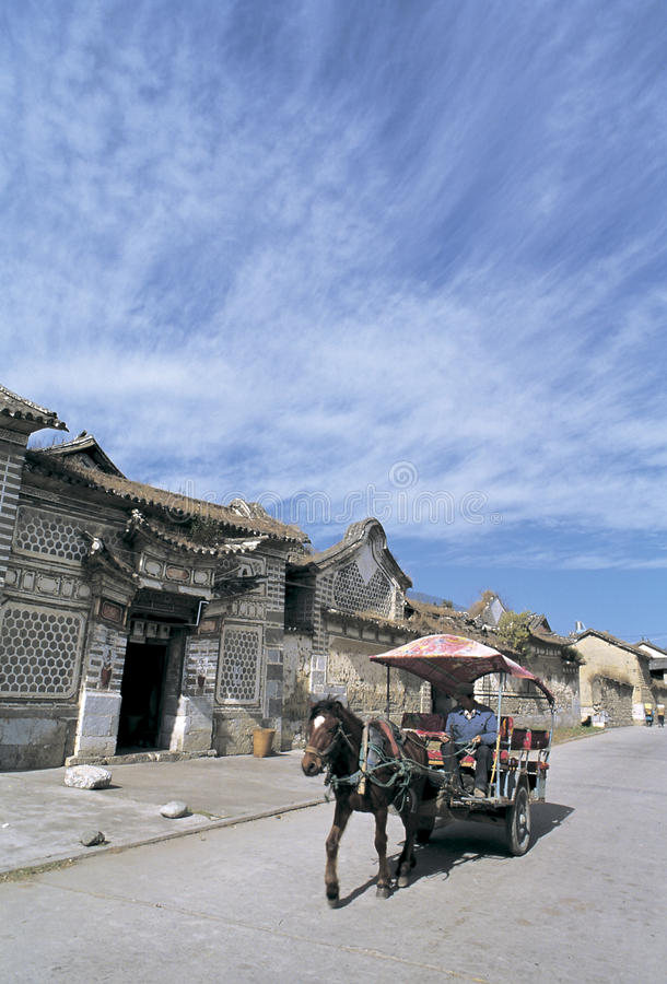 Download Bai  Dwellings In Southwest China Editorial Photography - Image of dwelling, traditional: 28662852