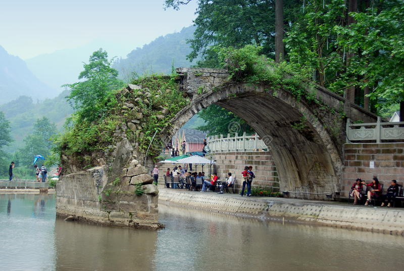 Download Bai Lu, China: Friendship Bridge Editorial Image - Image: 21257420