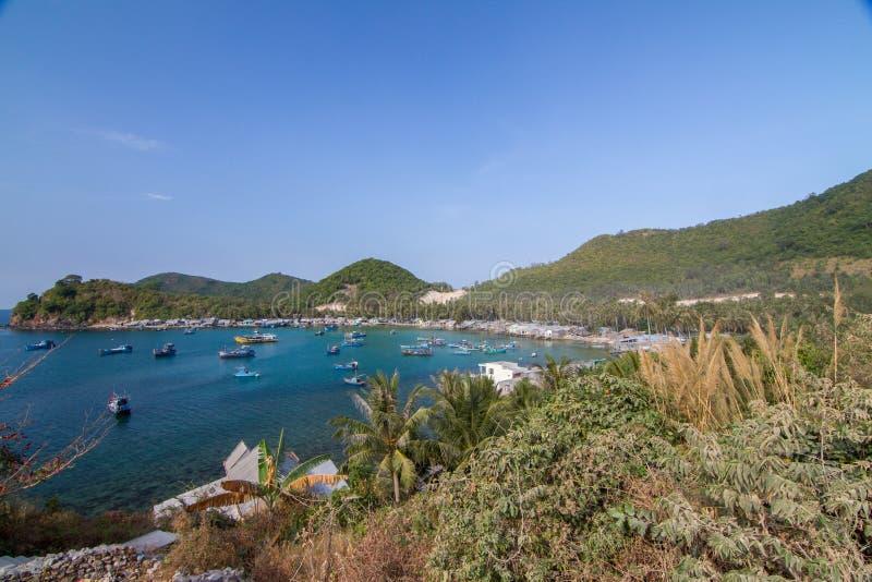 Bai Men (Men Beach), Nam Du islands, Kien Giang province, Vietnam. Nam Du islands located 90 km west of Rach Gia city in. Kien Giang. Nam Du islands has become royalty free stock photos