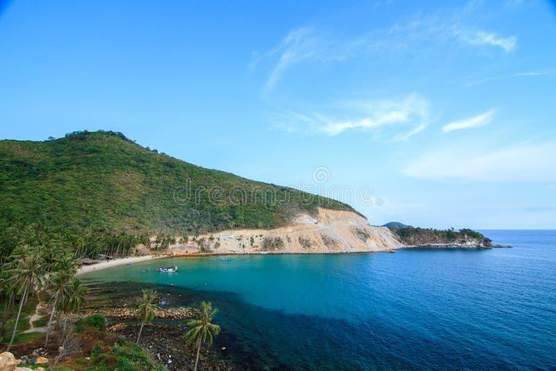 Bai Men (Men Beach), Nam Du islands, Kien Giang province, Vietnam. Nam Du islands located 90 km west of Rach Gia city in. Kien Giang. Nam Du islands has become stock photo
