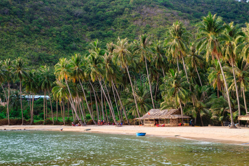 Bai Men (Men Beach), Nam Du islands, Kien Giang province, Vietnam. Nam Du islands located 90 km west of Rach Gia city in. Kien Giang. Nam Du islands has become stock photography