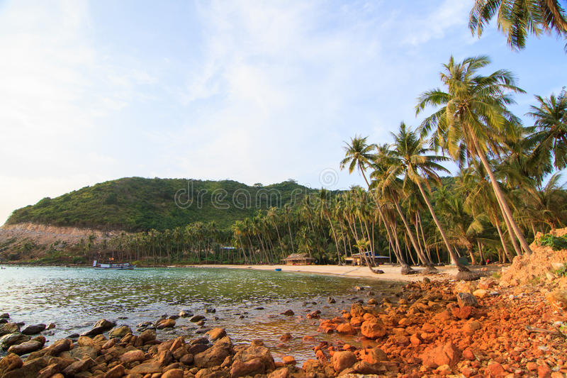 Bai Men (Men Beach), Nam Du islands, Kien Giang province, Vietnam. Nam Du islands located 90 km west of Rach Gia city in. Kien Giang. Nam Du islands has become stock photos