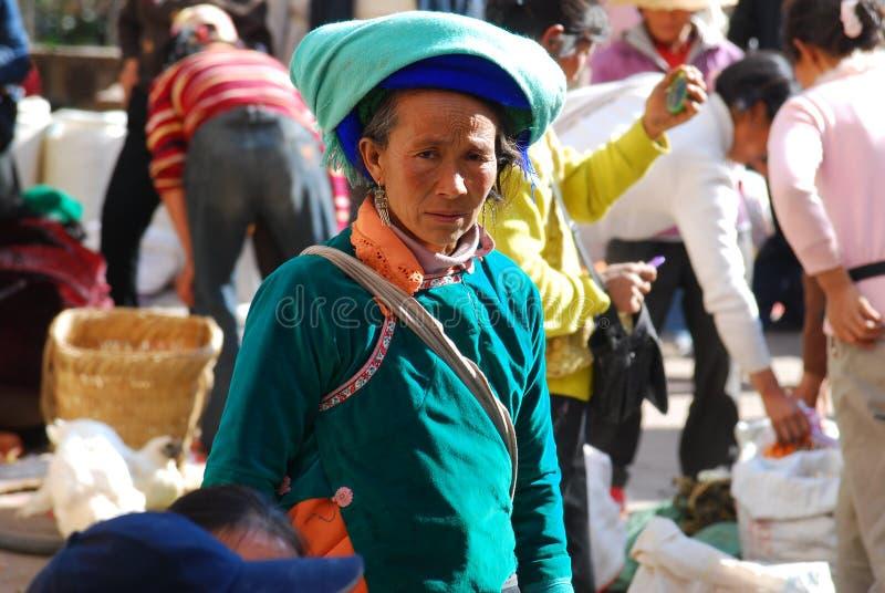 Bai mensen in China van het Zuidwesten stock afbeelding
