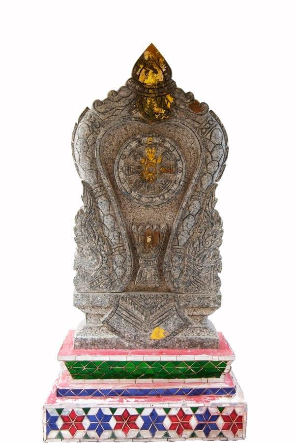 Bai Sema Boeddhistische tempel stock fotografie