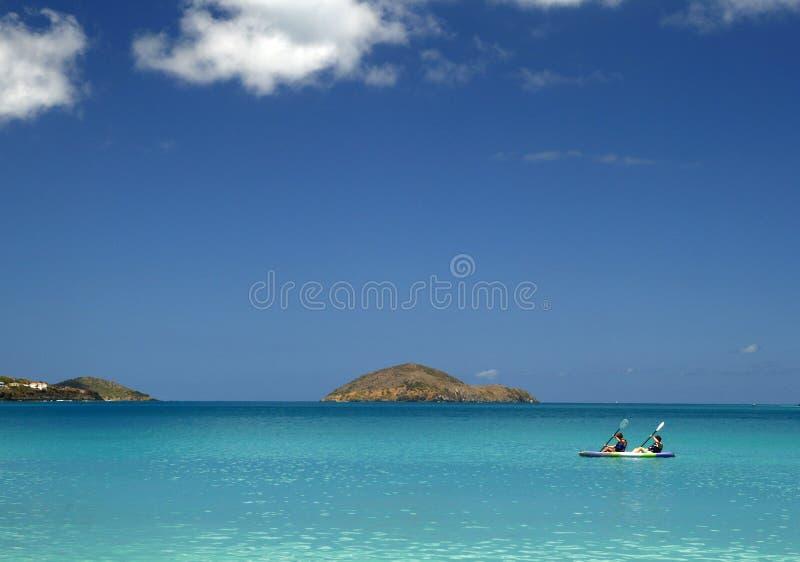 Baia 2 del Magen Kayaking fotografia stock libera da diritti