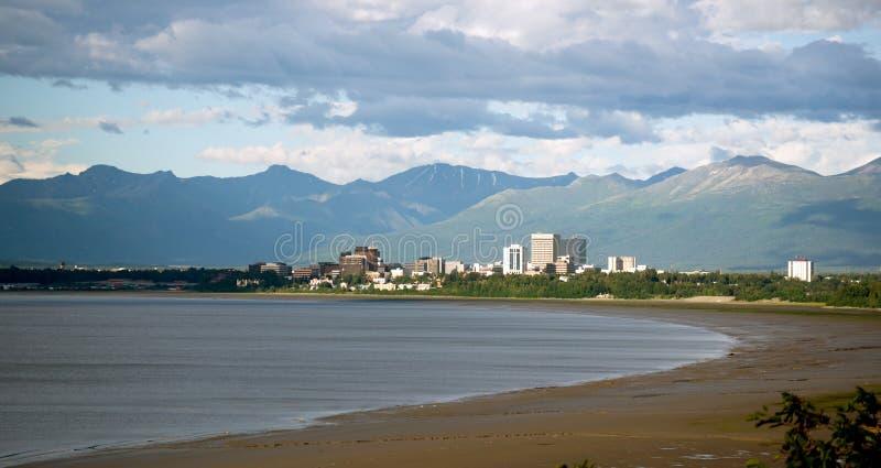 Baia Anchorage Alaska Stati Uniti dei Bootleggers di estate del nord immagini stock libere da diritti