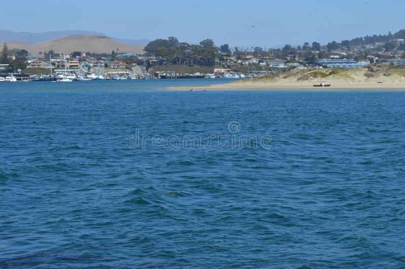 Baia California di Morro della spiaggia fotografia stock