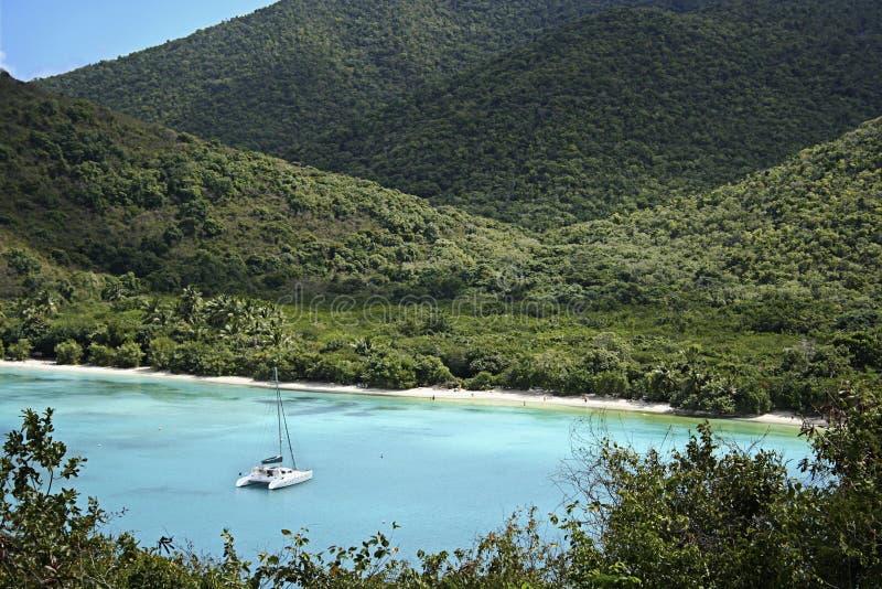 Baia caraibica immagini stock libere da diritti