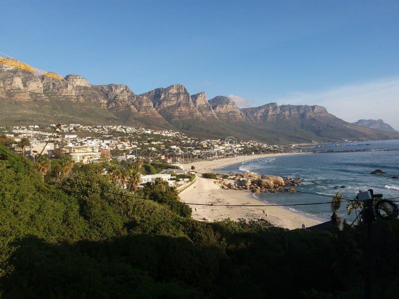 Baia dei campi, la Provincia del Capo Occidentale, Sudafrica fotografia stock libera da diritti