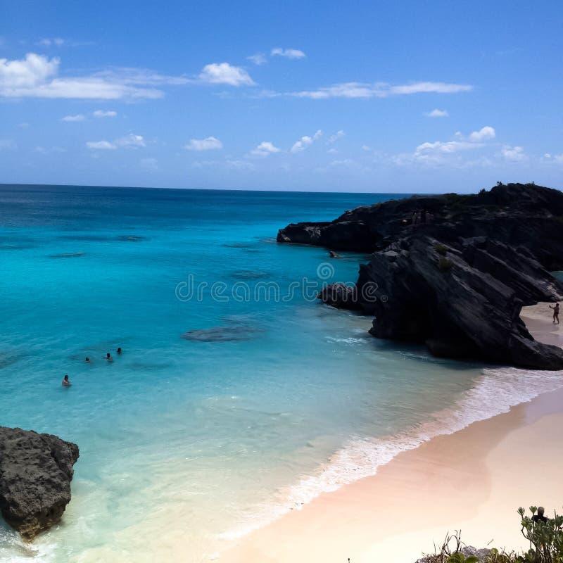 Baia del ferro di cavallo delle Bermude fotografia stock