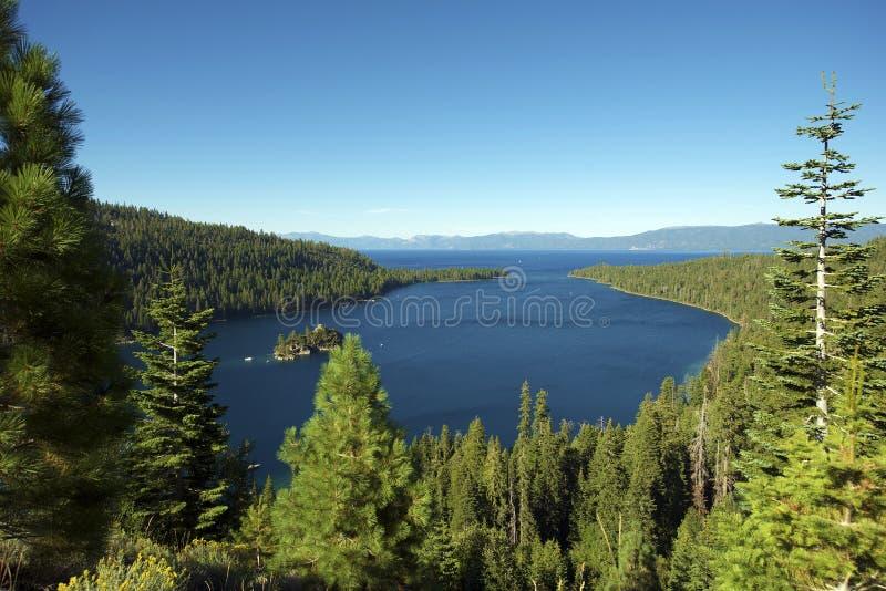Baia del lago Tahoe immagine stock