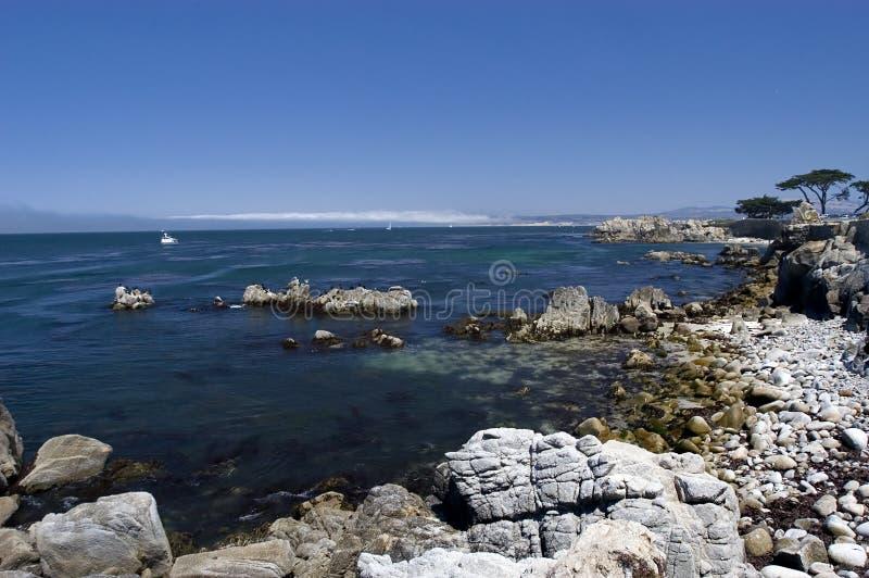 Download Baia del Monterey immagine stock. Immagine di radura, monterey - 210719