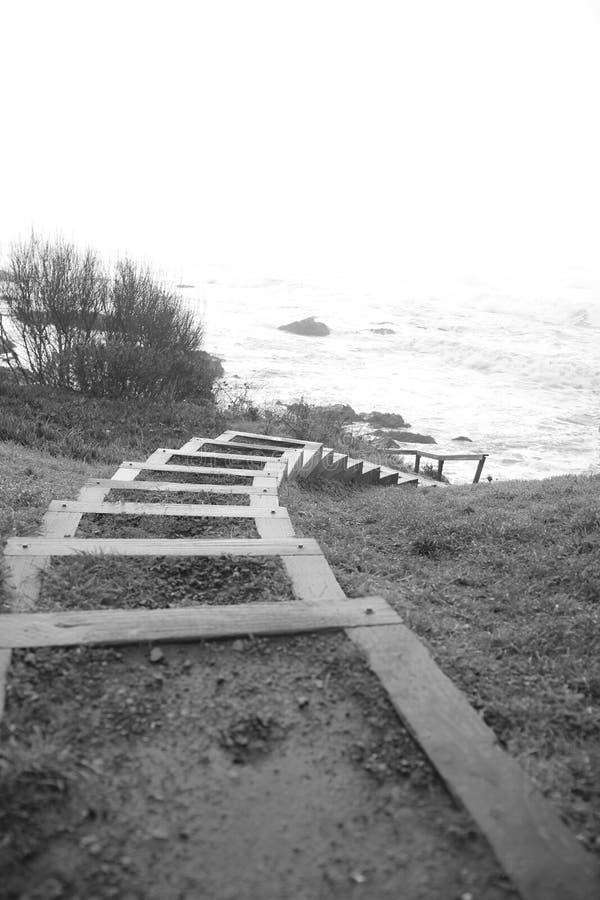 Baia del riparo, California Punti al lungomare fotografia stock