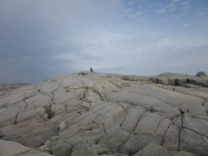 Baia del ` s di Peggy, Nova Scotia, Canada fotografia stock