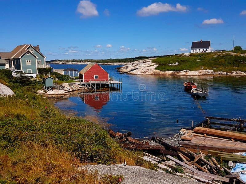 Baia del ` s di Peggy, Nova Scotia - Canada fotografie stock