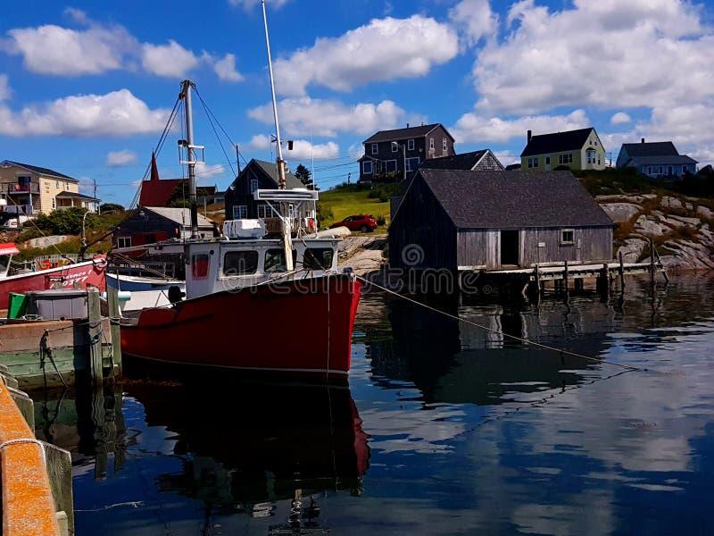 Baia del ` s di Peggy, Nova Scotia - Canada immagini stock libere da diritti