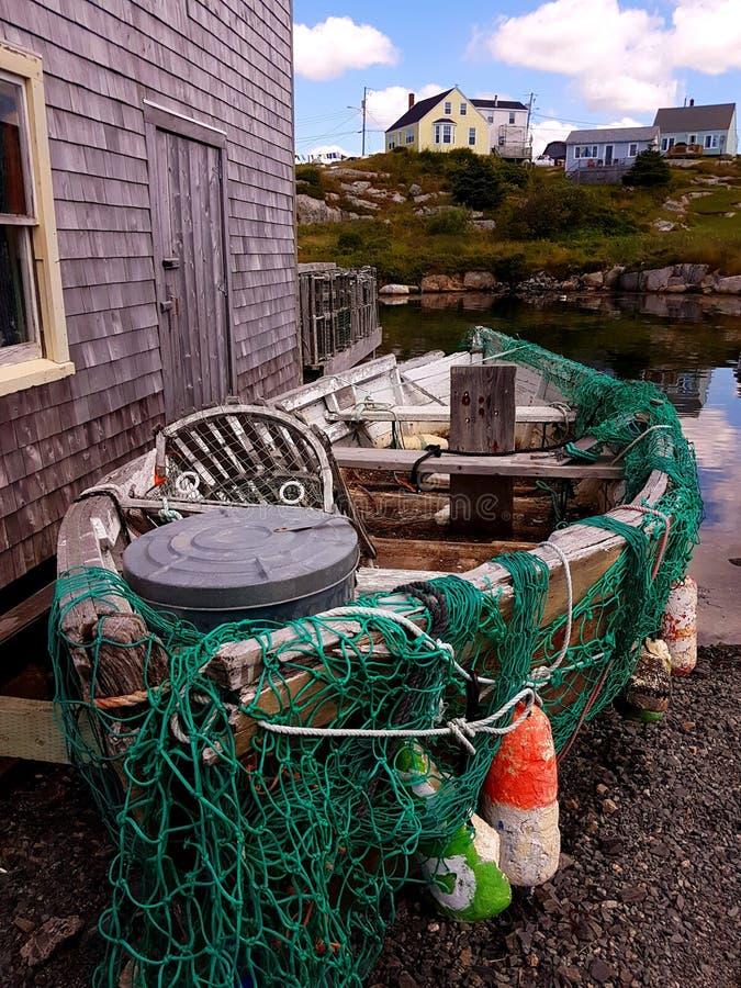 Baia del ` s di Peggy, Nova Scotia - Canada fotografia stock