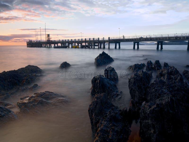 Baia della palma in Australia immagine stock libera da diritti