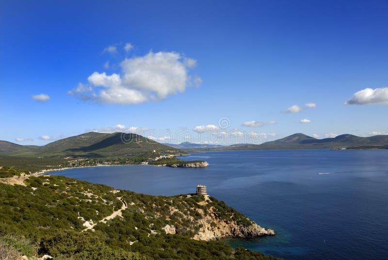 Baia della Sardegna fotografia stock libera da diritti