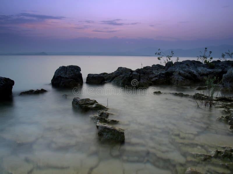 baia delle sirene 免版税库存图片