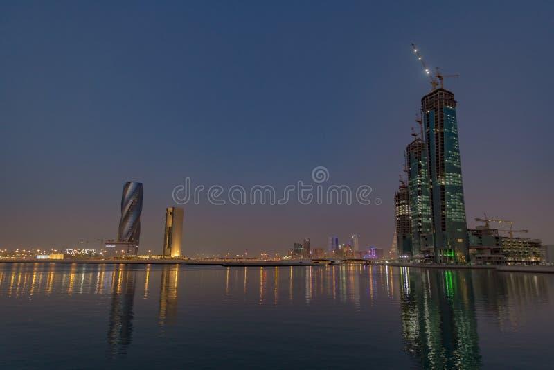 Baia di affari del Bahrain immagine stock libera da diritti