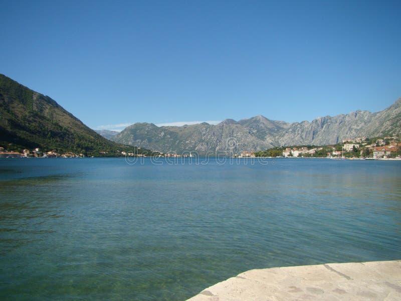 Baia di Boko-Cattaro fotografie stock libere da diritti