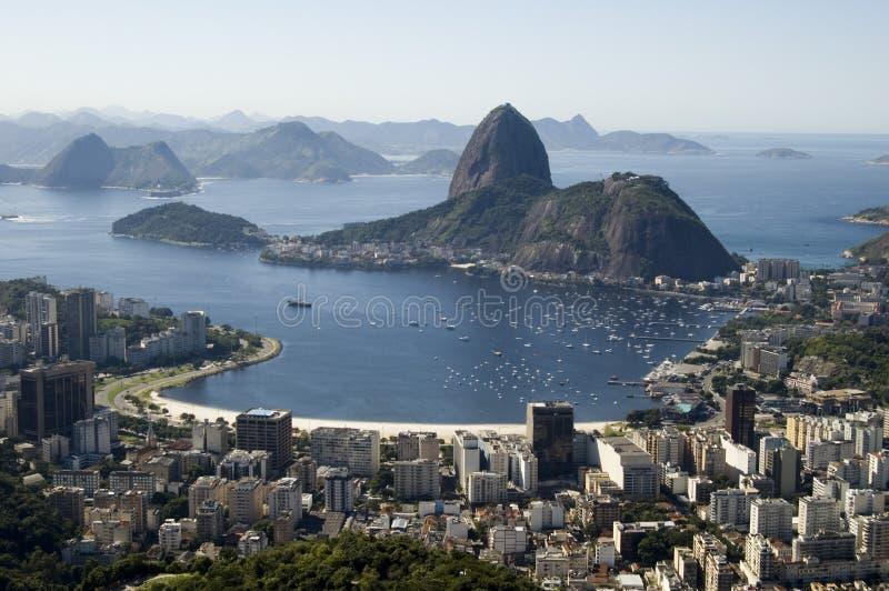 Baia di Botafogo immagini stock libere da diritti