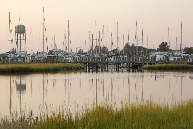 Baia di Chesapeake fotografie stock libere da diritti