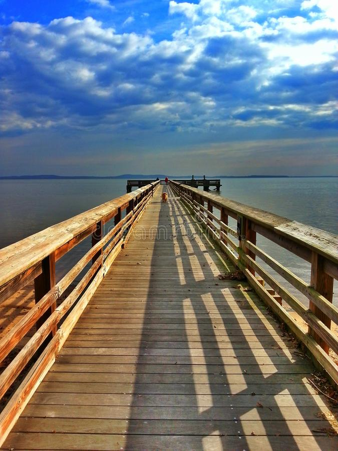 Baia di Chesapeake, Maryland immagine stock