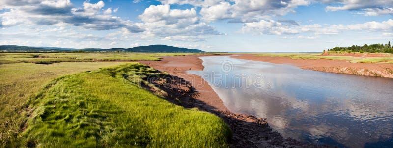 Baia di Fundy fotografie stock libere da diritti