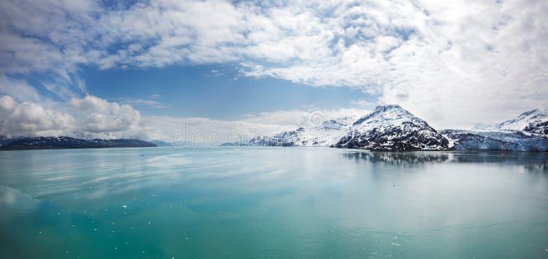 Baia di ghiacciaio fotografia stock