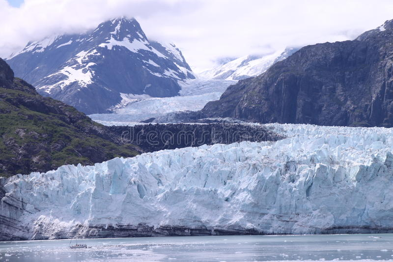 Baia di ghiacciaio fotografia stock libera da diritti