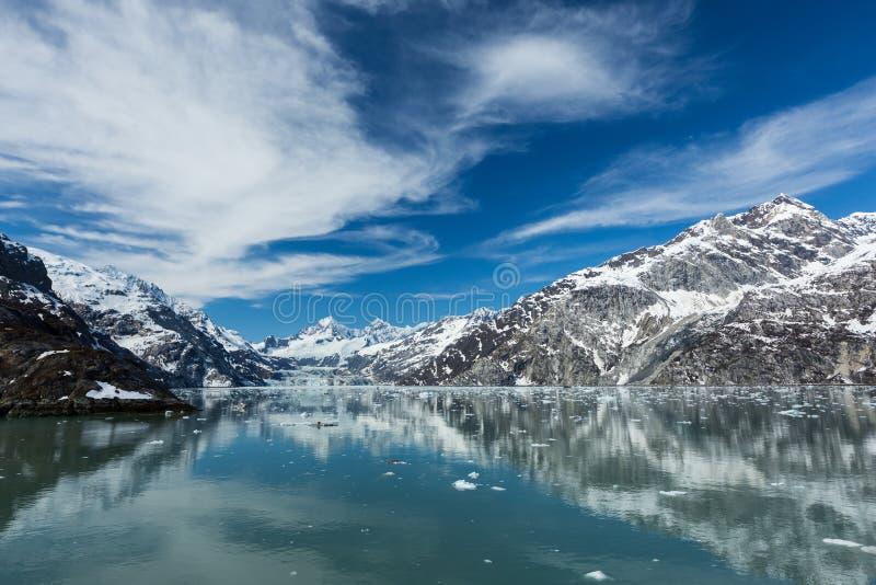Baia di ghiacciaio immagini stock libere da diritti