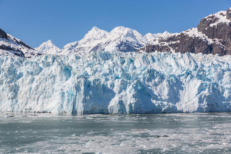 Baia di ghiacciaio, Alaska fotografia stock